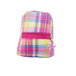 Popsicle Plaid Small/Preschool Backpack by Mint