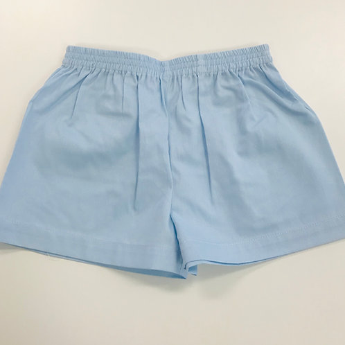 Lullaby Set Light Blue Pique Shorts