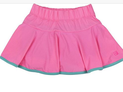 Set Athleisure Pink and Turquoise Quinn Skort
