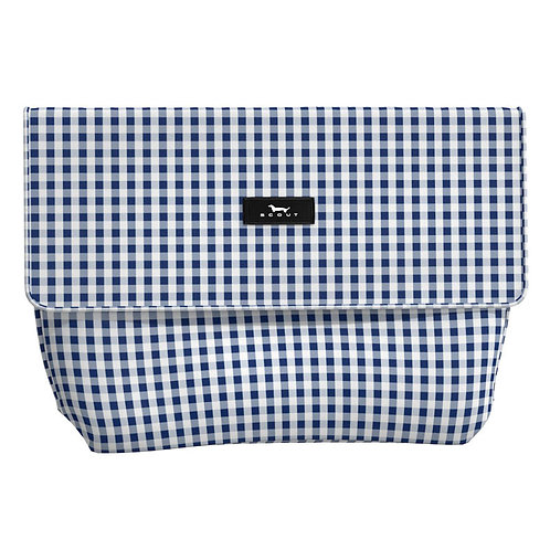 Scout Tourista (wet/dry bag)-navy gingham