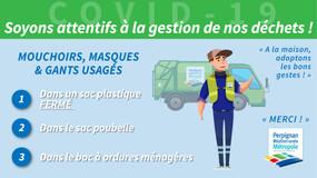 COVID 19 : la bonne gestion des déchets à la maison
