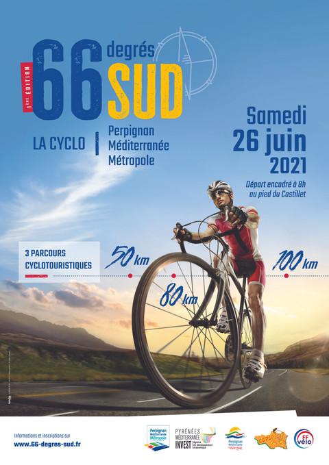 Perpignan Méditerranée Métropole lance l'évènement 66 degrés Sud, La Cyclo.