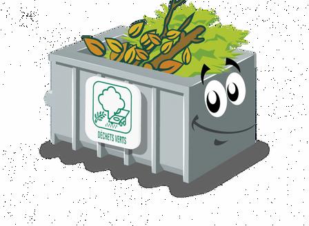 Fermeture temporaire du centre de déchets verts de Bompas