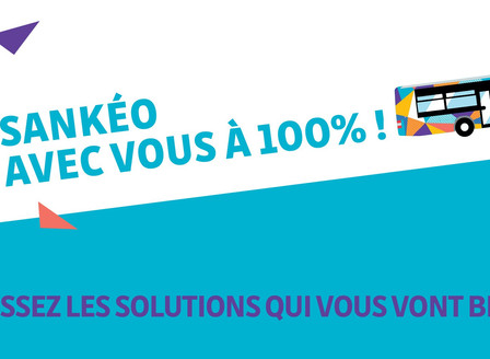 COVID 19 - Transports : Sankéo avec vous à 100 %