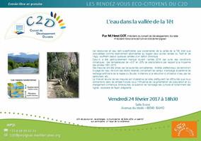 Conférence sur « L'eau dans la vallée de la Têt »
