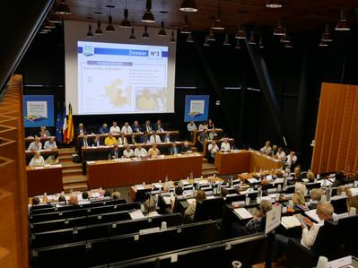 Conseil du 30/09/2019 : l'ordre du jour adopté à l'unanimité