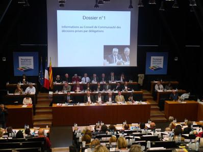 Conseil communautaire du 17 octobre : dix-neuf dossiers… et toujours le même élan pour « Pays Catala