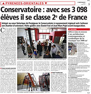 Conservatoire - Indépendant - 14 Mai 2015