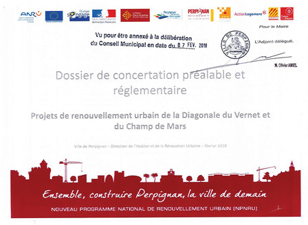 Concertation publique pour les projets de renouvellement urbain - Diagonale du Vernet et Champ de Ma