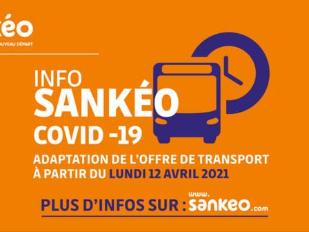 Ajustement de l'offre Sankéo