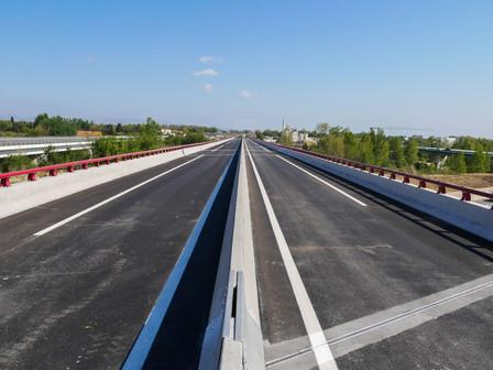 Ouverture du nouveau pont de la rocade nord-sud de Perpignan