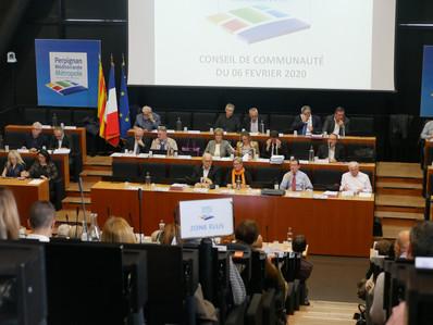 Conseil du 06/02/2020 : 52 des 53 dossiers adoptés à l'unanimité