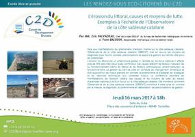 Conférence sur « L'érosion du littoral : causes et moyens de lutte »