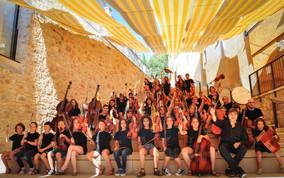 Un orchestre symphonique junior de Catalogne Sud en concert à Perpignan !