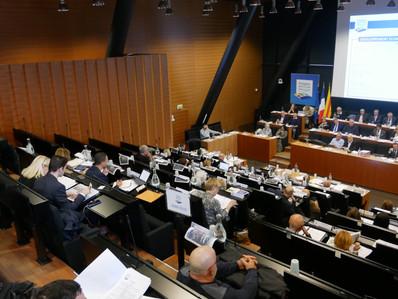 Conseil du 15/11/2019 : l'ordre du jour adopté à l'unanimité des votes