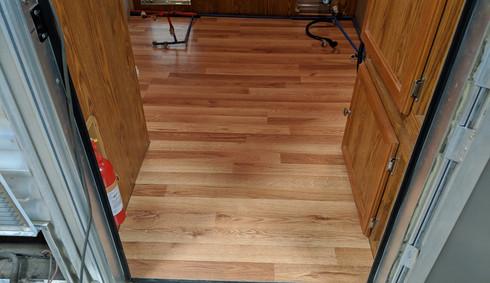 New raised flooring
