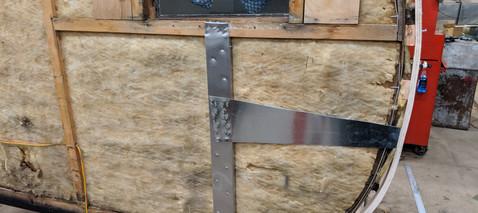 Reinforced rear wall corners