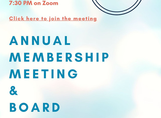 Annual Board Meeting and Elections