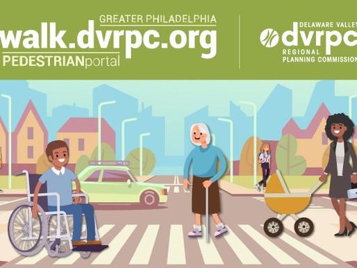Announcing the new Greater Philadelphia Pedestrian Portal