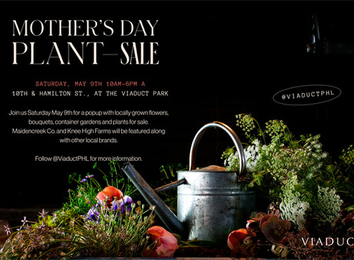 Mother's Day Pop Up Plant Sale