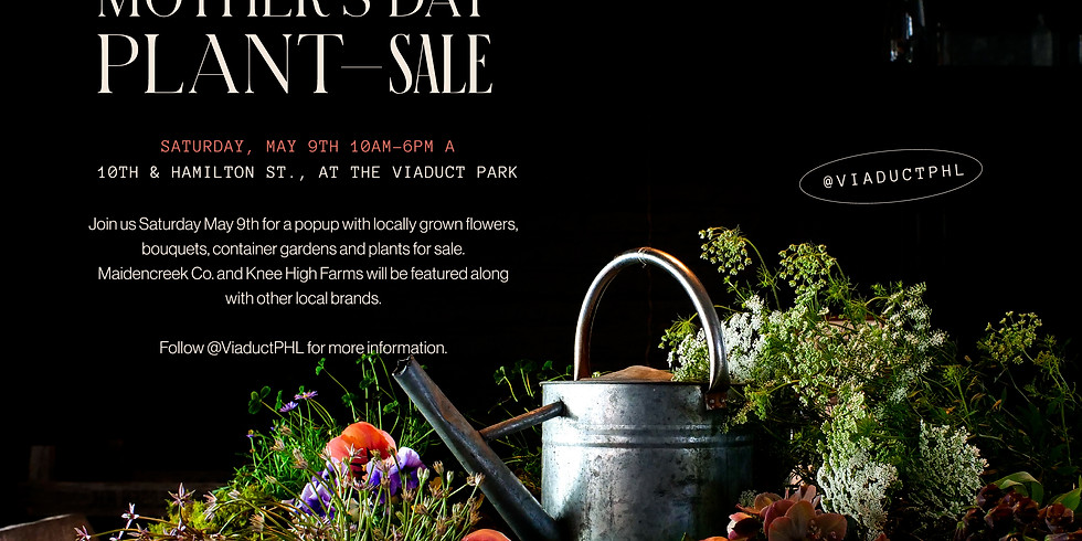 Mother's Day Plant Sale Pop Up