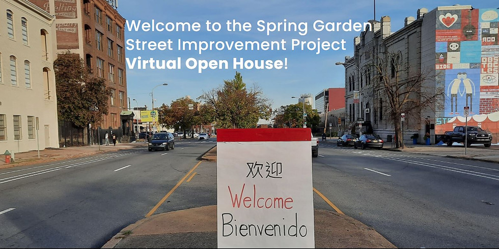 Virtual Open House - The Spring Garden Street Improvement project wants your input