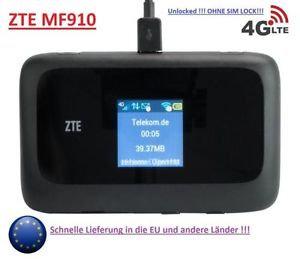 ZTE 4GLTE pocket WiFi wireless
