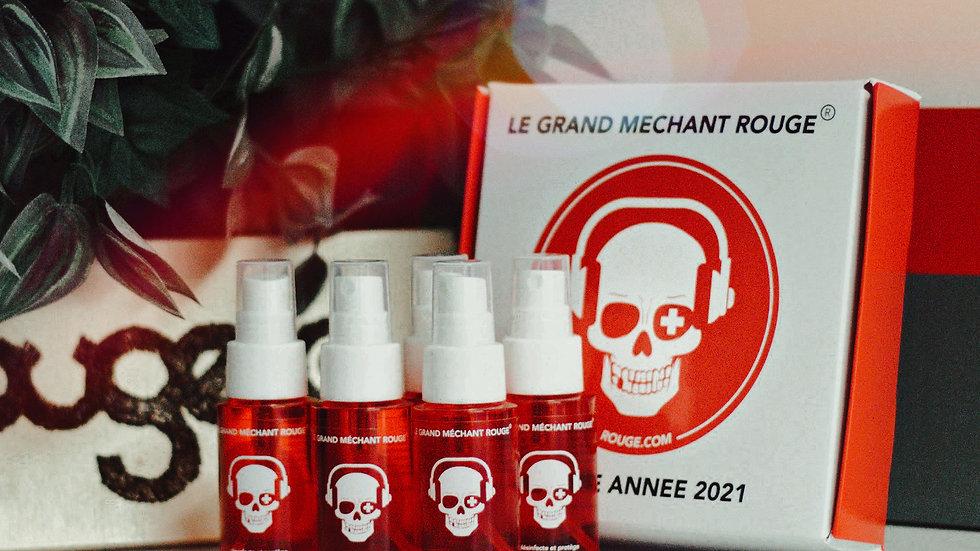 Coffret de sprays désinfectants (pack de 5)
