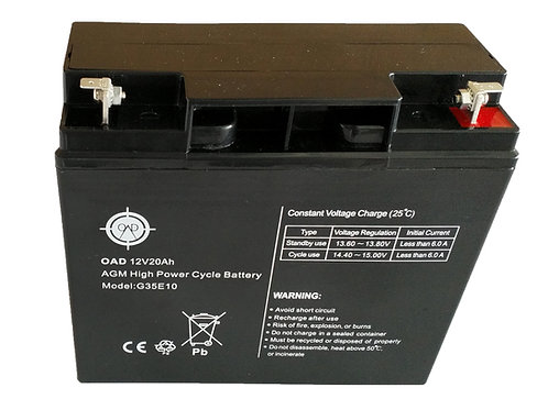 One And Done 12V 20Ah SLA Battery