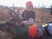 OAD feeder father son hunting