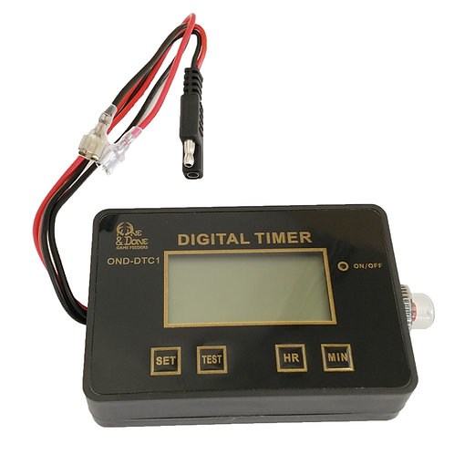 One And Done Digital Timer