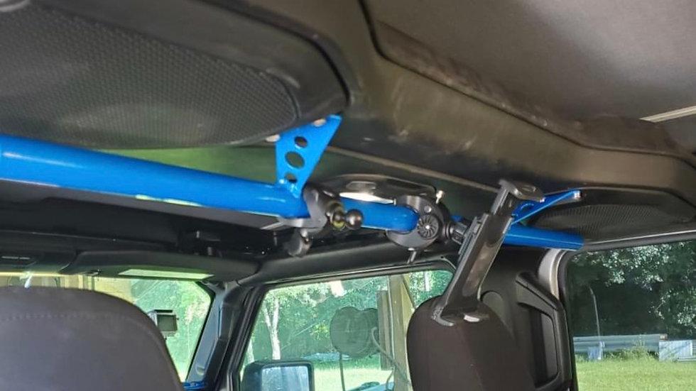 Sound bar accessory mount