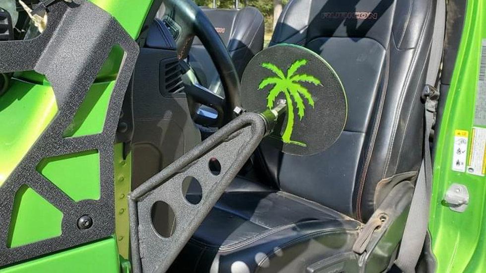 Custom trail mirrors