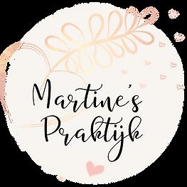 logo martines praktijk met rose goud 2.p