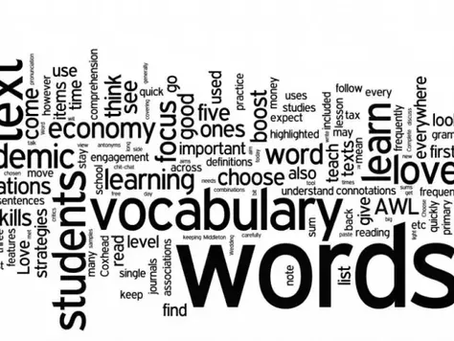 Vocabulary developing for the 11+