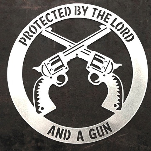 Protected by the Lord and a Gun