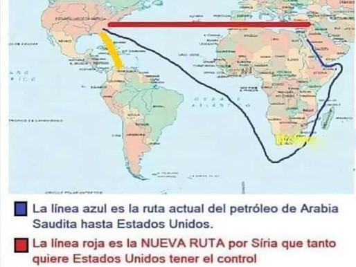 SIRIA, ARABIA SAUDITA, VENEZUELA LA RUTA MÁS CORTA