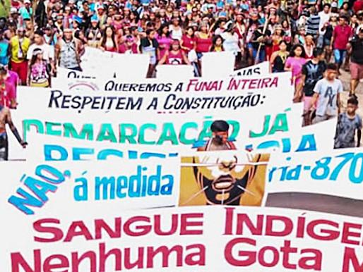 LAS LUCHAS POR EL TERRITORIO EN LAS CALLES DE BRASILIA