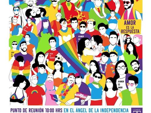 XLI Marcha del Orgullo LGBTTTIQ+ en la Ciudad de México