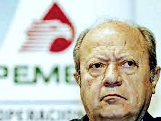 Romero Deschamps fuera de Pemex a partir de hoy: López Obrador