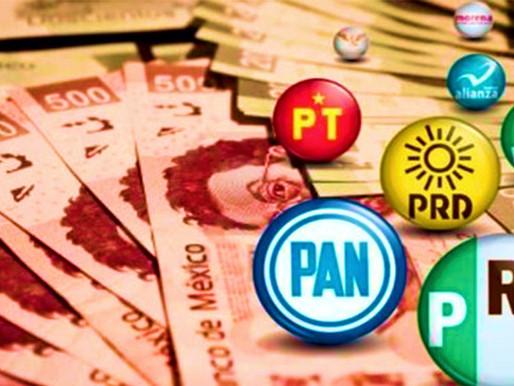 Financiamiento a los partidos e instituciones antidemocráticas