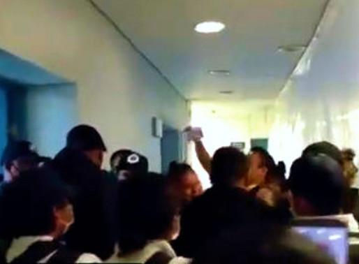 Agresión en el Hospital general de Ecatepec