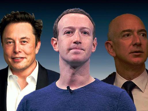 La riqueza combinada de los 12 mejores oligarcas de EE. UU. supera un billón de dólares