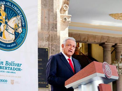 López Obrador destaca resistencia y dignidad de Cuba ante el bloqueo de EU.