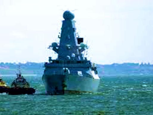 Provocación escenificada contra Rusia en el Mar Negro