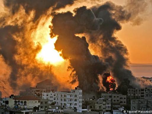 ISRAEL BOMBARDEA PALESTINA