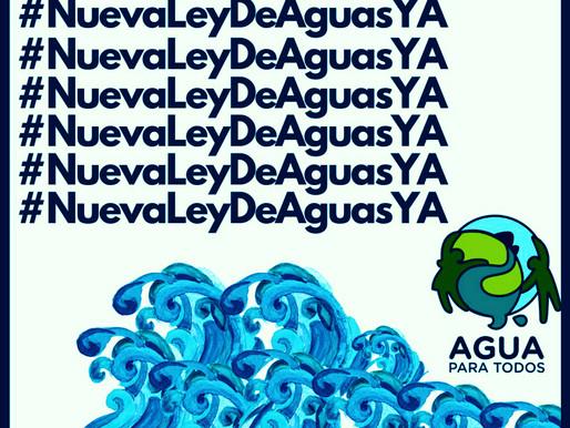 URGE LA NUEVA LEY GENERAL DE AGUAS CON SENTIDO SOCIAL
