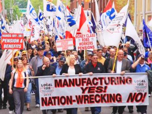 La contribución de los trabajadores siderúrgicos a Steeltown