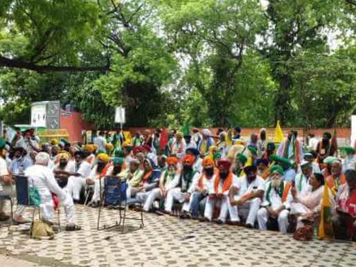 INDIA. La lucha de los agricultores por los derechos de todos continúa sin cesar.
