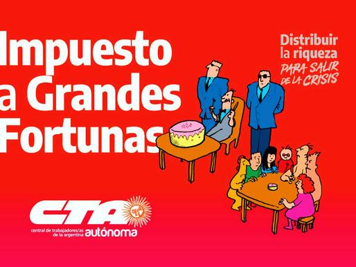 Impuesto a la riqueza en Argentina recaudará este año 3 mil mdd